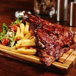 Try our 8hr slow cooked BBQ ribs