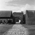fort entrance from inside