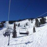 Upper Mountain high speed lift
