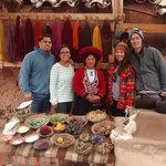 visiting the most interesting weaving center in the Sacred Valley to Machupicchu