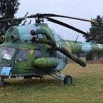 Military chopper.