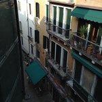 View from Room 303 - so many noisy restaurants!