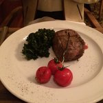 Beef Fillet at La Cucina Restaurant - Yerevan Marriott Hotel