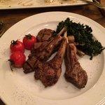 Lamb with Rosemary & Mint at La Cucina Restaurant - Yerevan Marriott Hotel