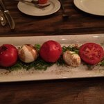 Caprese Salad at La Cucina Restaurant - Yerevan Marriott Hotel