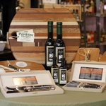 Sole purveyor of local artisan Marty Perkins cutting boards