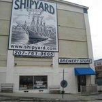 The exterior of Shipyard!