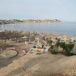 Вид на пляж отеля Гарем