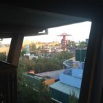View of California Adventure from 5260, day