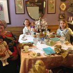 Tea Party with the dolls!