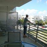 Il nostro piccolo balcone con idromassaggio