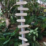 Little Palm Island - Sign Post