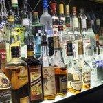 Great back bar selection