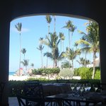 view from the buffet