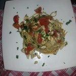 Spaghetti ricciola e pachino