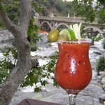 Enjoy a Cocktail by the Kaweah River