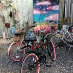Bike touring in New Orleans