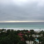 View from room on overcast day - still beautiful!
