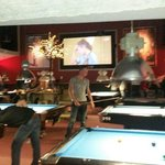 best place for a game of pool in Amsterdam. Big beer and whiskey selection and the big soccer ma