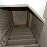 top of stairs across from 401  attic? did not see the