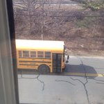 Busses right outside your window.