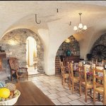 Authentic dining room
