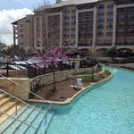 Lazy river. Very nice pools & water park area including adult pool.