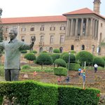 Mandela memorial statue