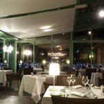 La sala del ristorante.