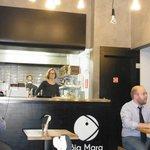 Bia Mara open kitchen