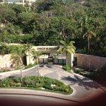 Back gate makes resort very secure
