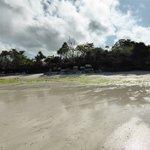 Spiaggia lucidata a cera