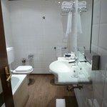 Il bagno della nostra camera