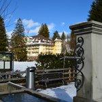 Hotel vanop dorpspromenade