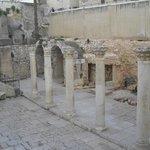 Unicos restos de la Jerusalem romana