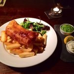 Lovely Fish and Chips at The Red Hart