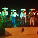 Mariachi band on Mexican night