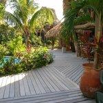 pool/restaurant area