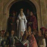 Alcazar of Segovia - painting of Queen Isabella