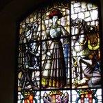 Alcazar of Segovia - stained glass window