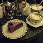 Cake and Hot Chocolate