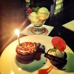 Koi birthday dessert !!