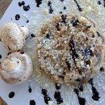 mashroom risotto with truffles