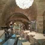 Dettaglio interno ristorante