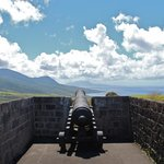 Cannon on the fortress.