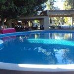 A maior das cinco piscinas do Camino Real