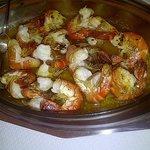 garlic shrimp dish