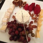Cheese and Fig Plate