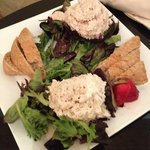 Chicken and Tuna Salad Plate