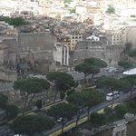 Fórum romano visto do terraço